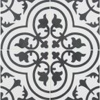 8 in. x 8 in. Amantus Encaustic Matte Porcelain Floor and Wall Tile (5.33 sq. ft./case)