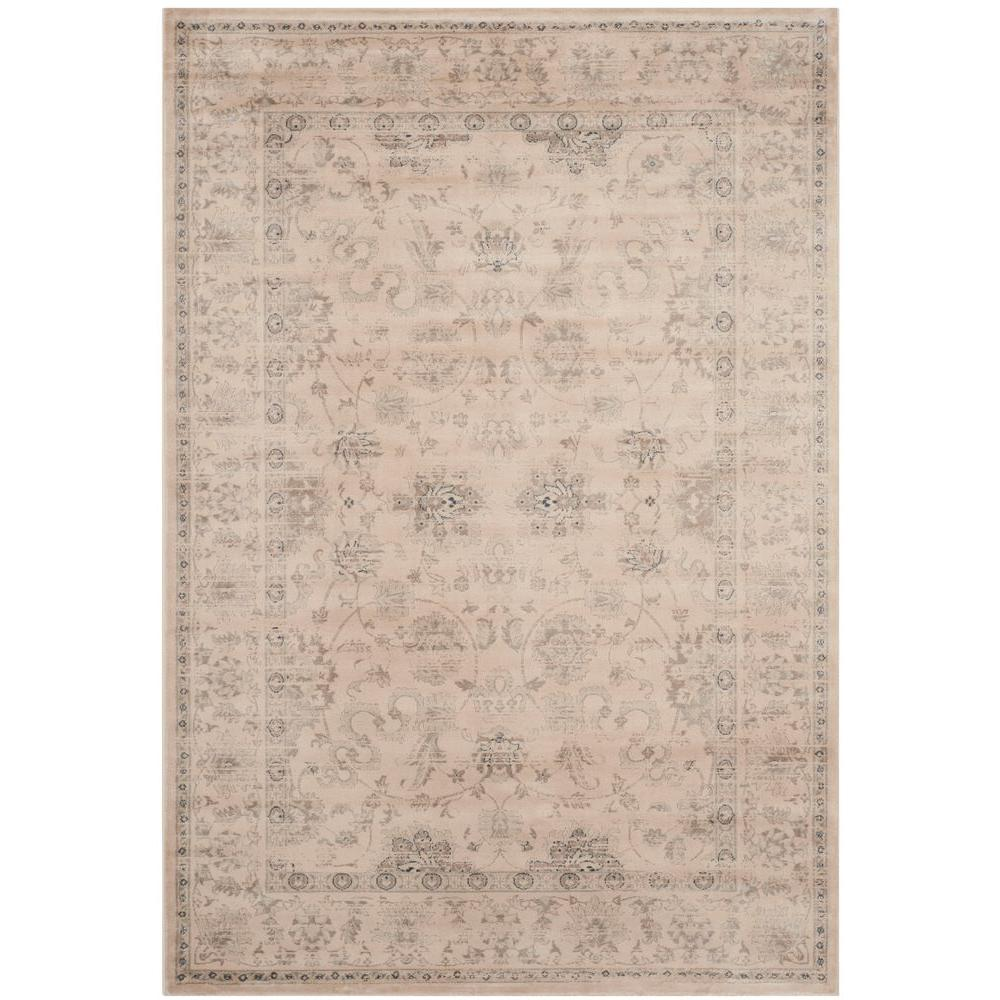 Vintage Cream 4 ft. x 5 ft. 7 in. Area Rug