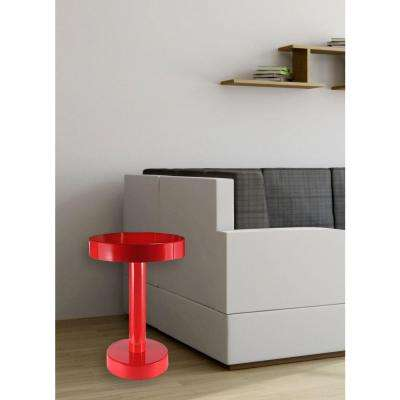 Weldon Red End Table