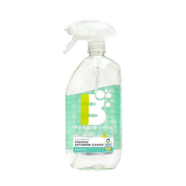 28 oz. Clean PURE Foaming Bathroom Cleaner Sweet Lime