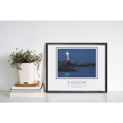 """24 in. x 30 in. """"Vision"""" Printed Framed Wall Art"""