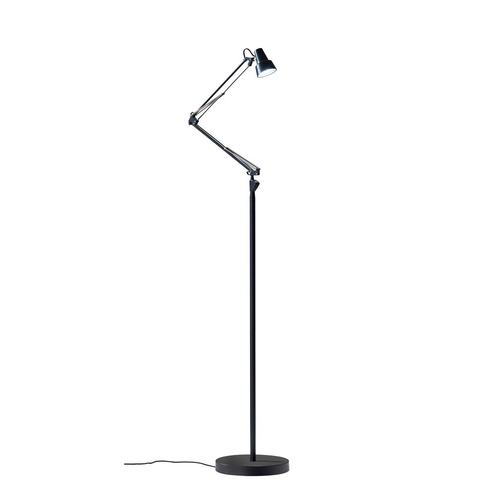Quest 64.5 in Integrated LED Black Floor Lamp