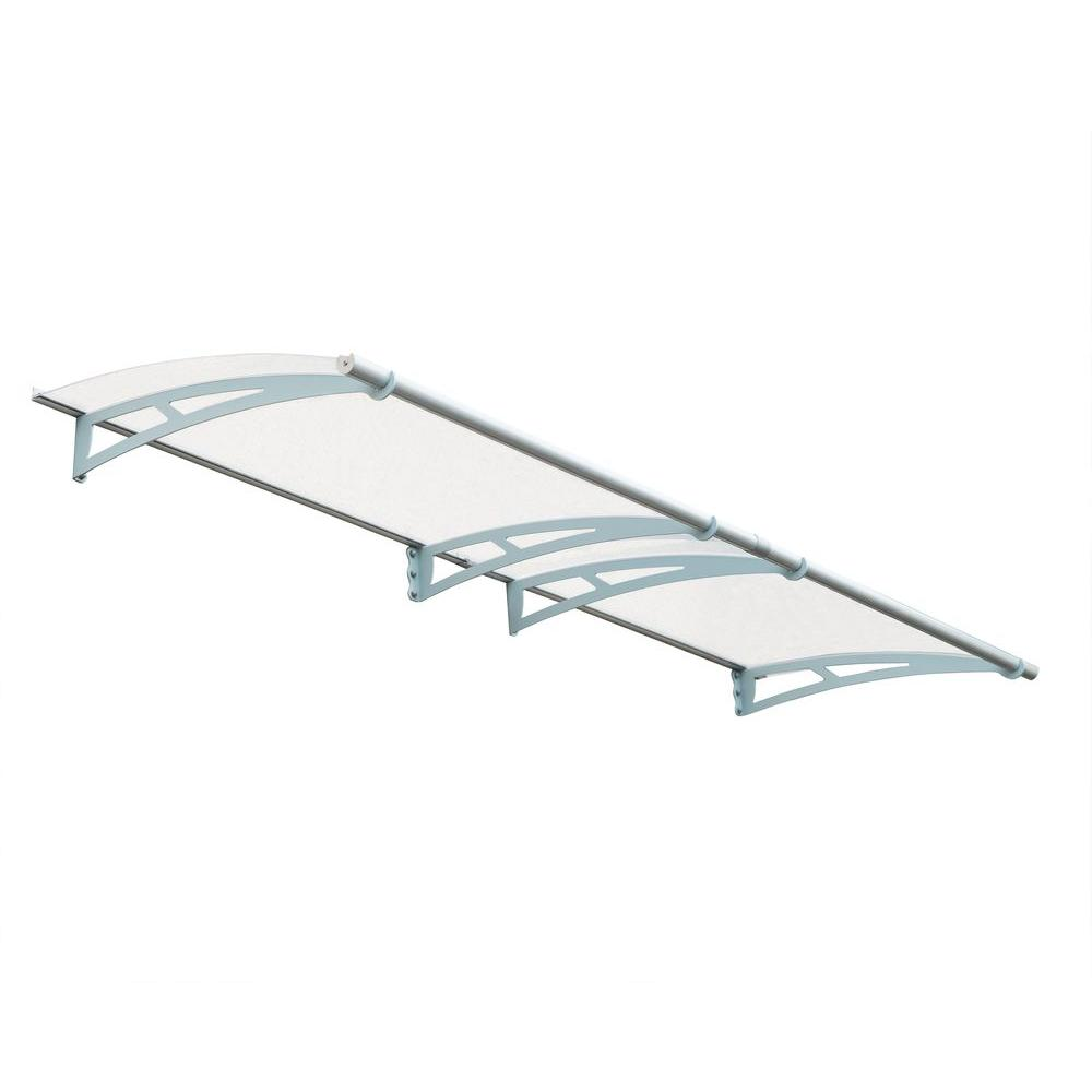 Palram Aquila 3000 Clear Awning  sc 1 st  The Home Depot & Palram Aquila 3000 Clear Awning-703408 - The Home Depot