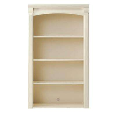 Edinburgh 48 in. H x 28 in. W 4-Shelf Modular Pier Top in Ivory