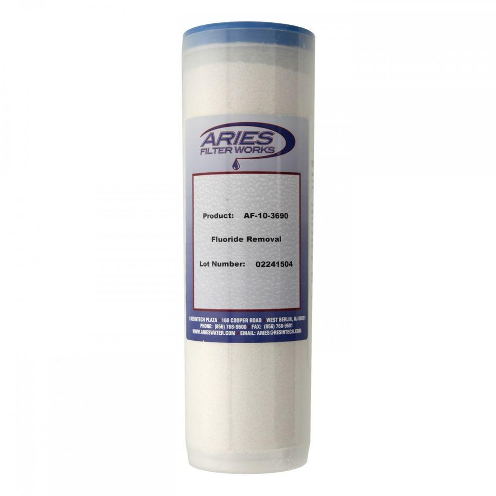 Aries 10 in. Replacement Fluoride Filter Cartridge