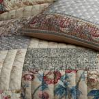 The Company Store Charleston Multicolored Floral Cotton Patchwork Full/Queen Quilt