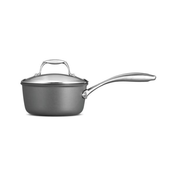 Tramontina Gourmet 1.5 Qt. Hard Anodized Saucepan with Lid 80123/010DS