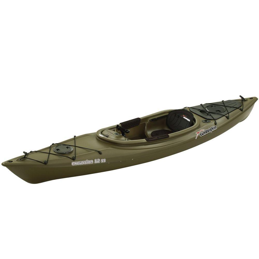Sun Dolphin Excursion 12 ft. Sit-In Fishing Kayak