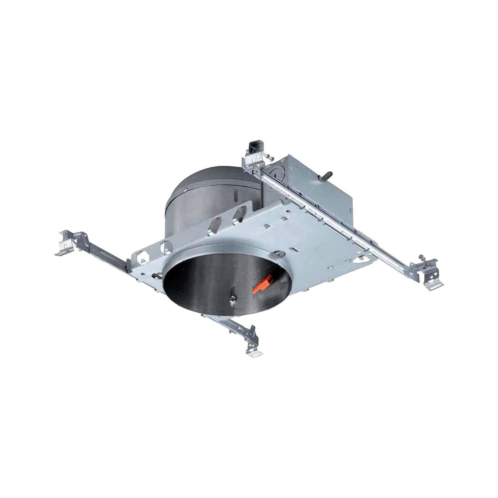 Envirolite 6 In Led Recessed Housing Shallow Height New Construction Can 6 Pack Evr6slicat 6 The Home Depot