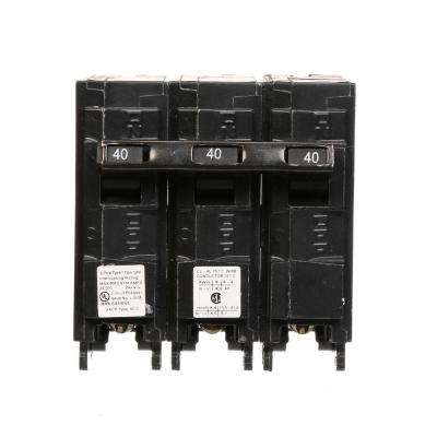 40 Amp Three-Pole Type QPH 22kA Circuit Breaker
