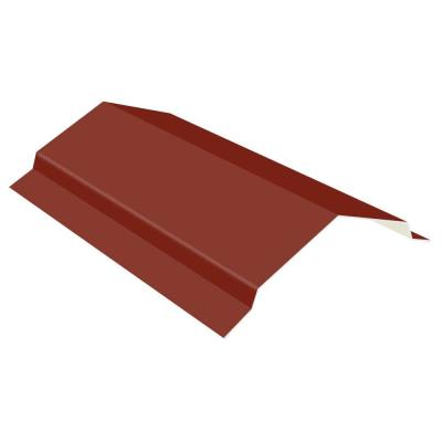 10 ft. Red 29-Gauge Galvalume Steel RC2 Ridge Cap Flashing