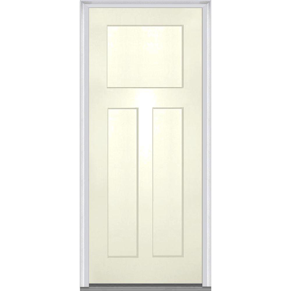 Mmi Door 36 In X 80 In Left Hand Inswing Craftsman 3