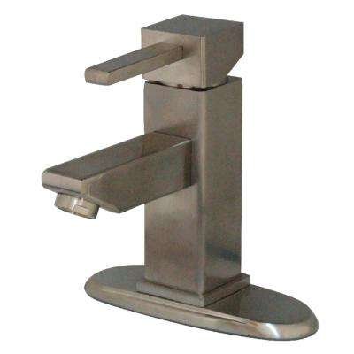 Claremont Single Hole Single-Handle Bathroom Faucet in Brushed Nickel