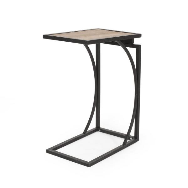 Barrybrooke Antique Brown and Black End Table