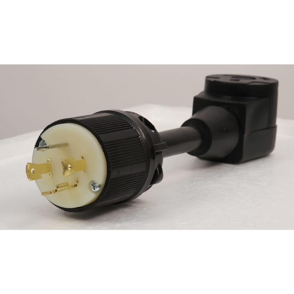 30 Amp 10/3-Gauge Portable Generator RV Adapter