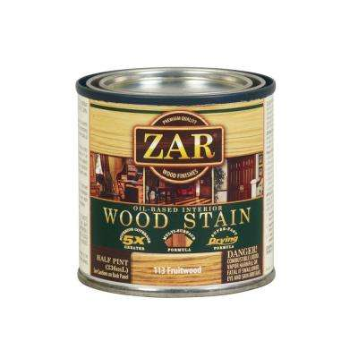 113 0.5 pt. Fruitwood Wood Stain (2-Pack)
