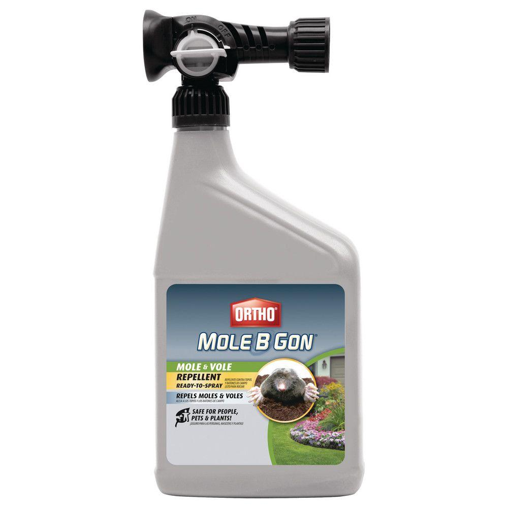Ortho Mole-B-Gon 32 oz. Ready-to-Spray Mole and Vole Repellent