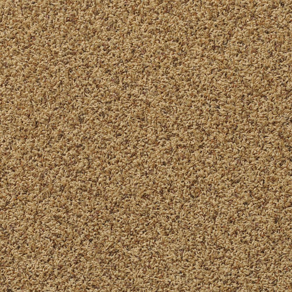 Platinum Plus Kingston Heights - Color Overjoyed Ochre 12 ft. Carpet