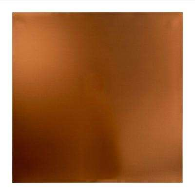 Flat Panel - 2 ft. x 2 ft. Lay-in Ceiling Tile in Oil Rubbed Bronze