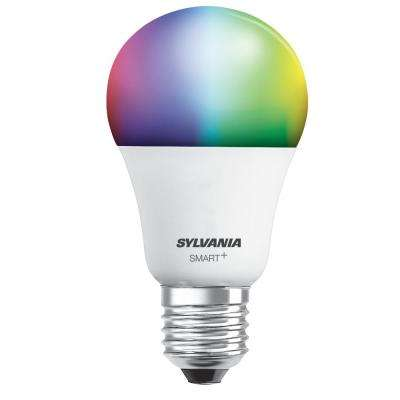 60W Equivalent Multi Color A19 SMART LED Home Kit Light Bulb