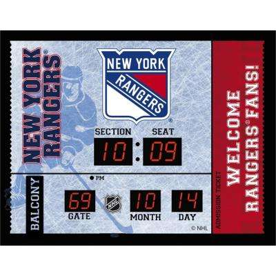 NHL New York Rangers Portable Premium iDock with Remote Control