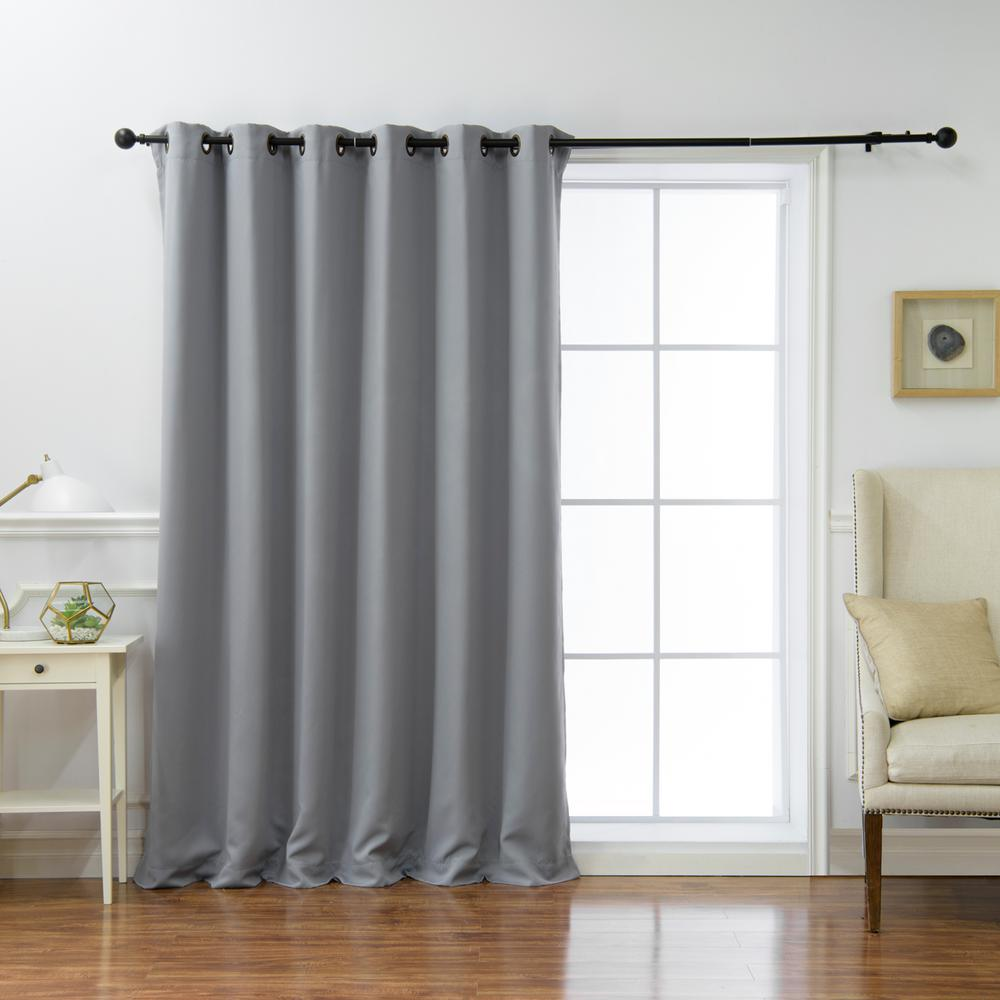 Best Home Fashion Wide Basic 80 In. W X 96 In. L Blackout