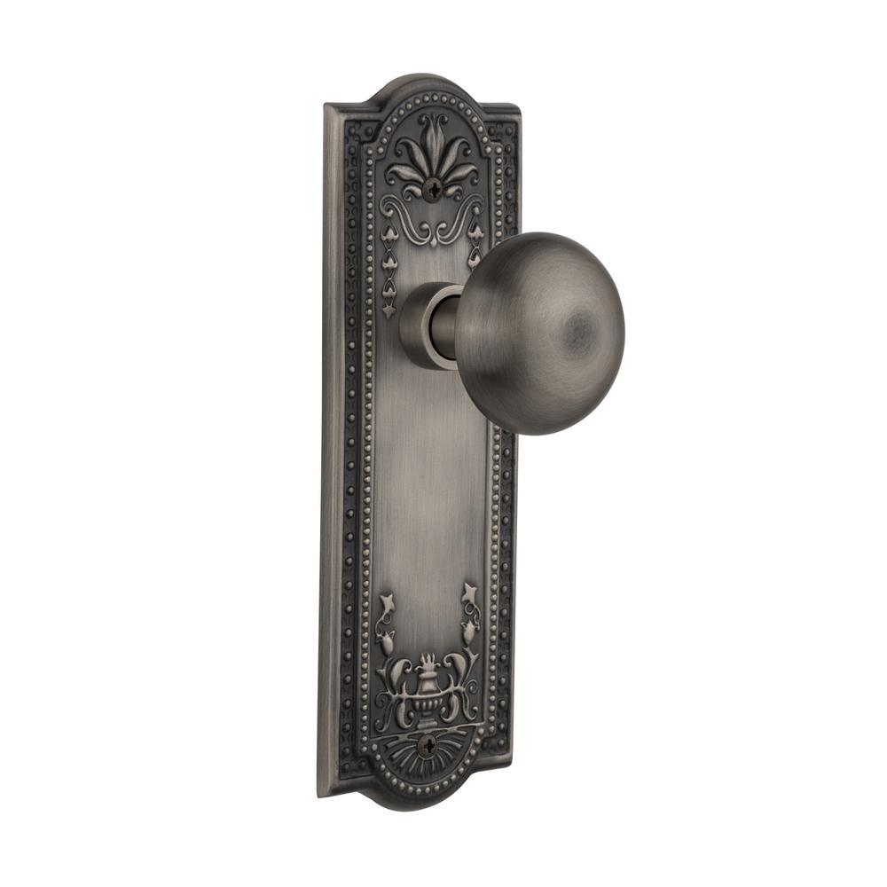 Small Pewter Door Kick Plate: Nostalgic Warehouse Prairie Plate Double Dummy Waldorf