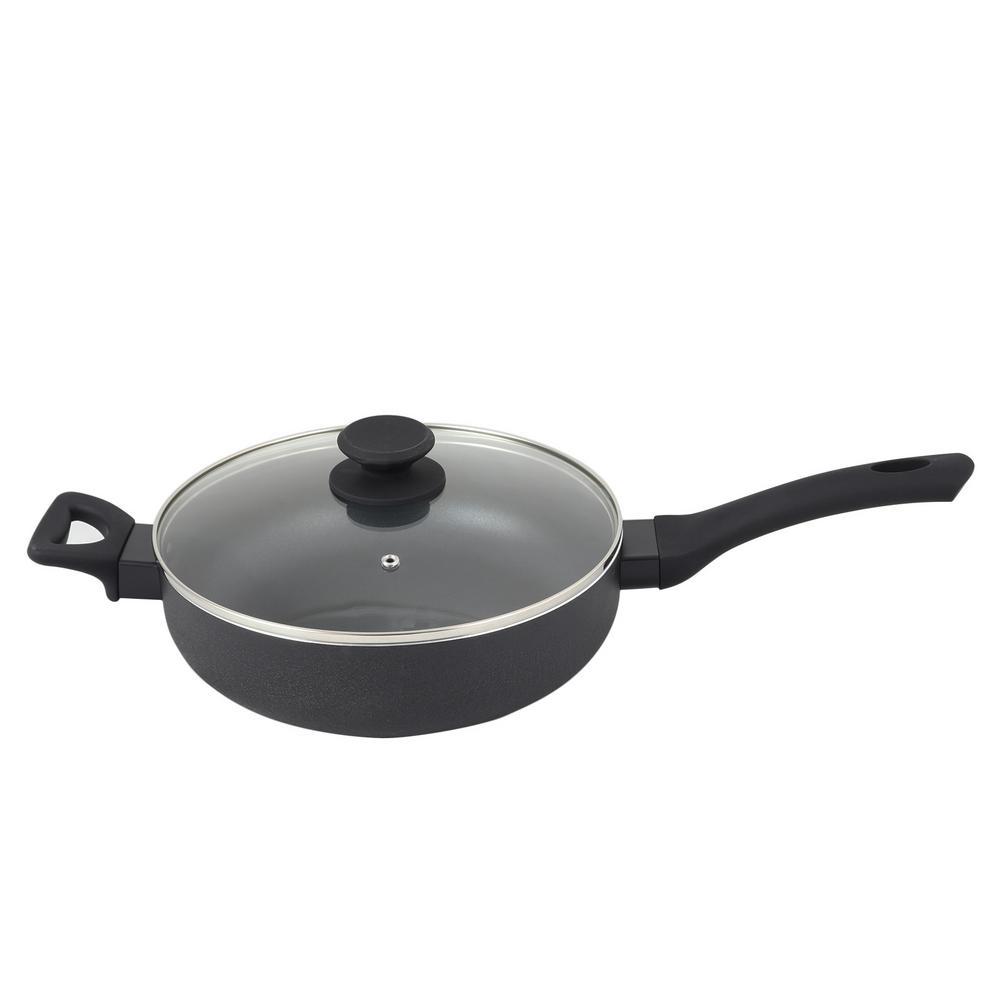 Ashford 4.2 Qt. Aluminum Saute Pan with Lid