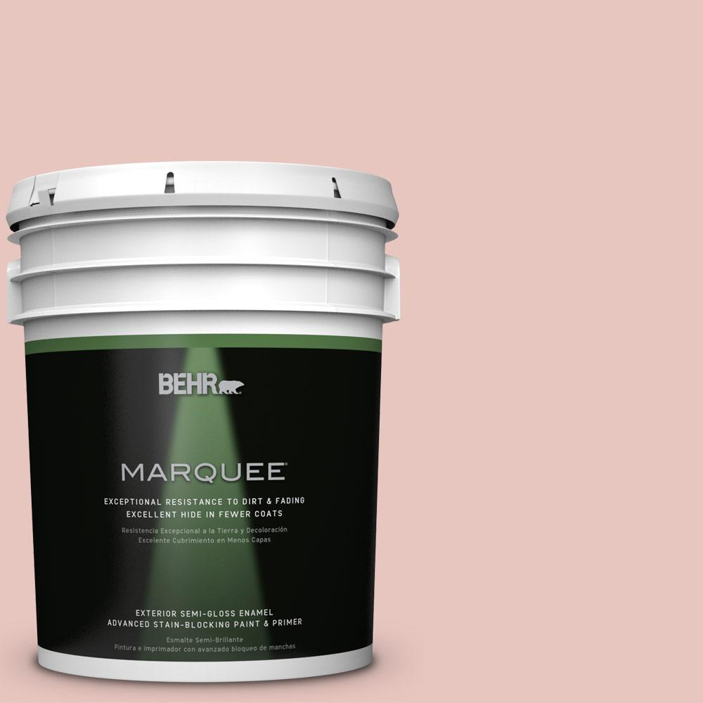 BEHR MARQUEE 5-gal. #S160-1 Iced Cherry Semi-Gloss Enamel Exterior Paint