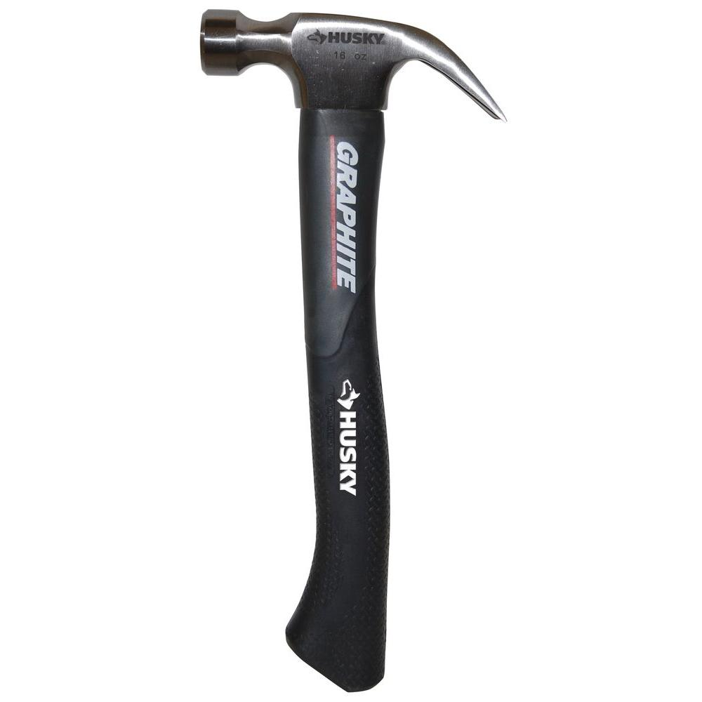 Husky 16 oz. Graphite Hammer