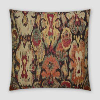 Cyrus Feather Down 18 in. x 18 in. Standard Decorative Throw Pillow