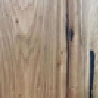 Wire Brushed Camel Hickory 3/8 in.Tx7.5 in.WxVarying Length Click Lock Engineered Hardwood Flooring (30.92 sq. ft./case)