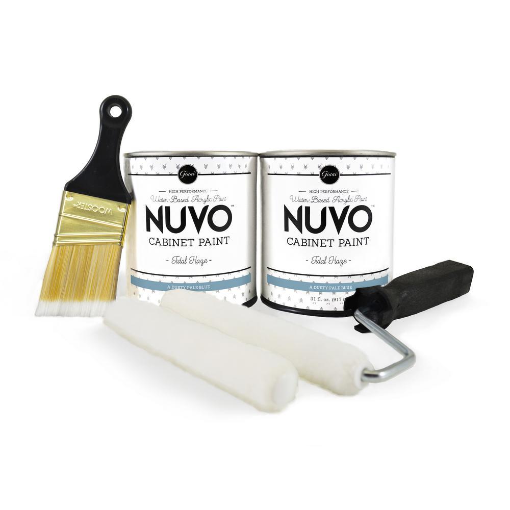 NuVo 2-qt  Tidal Haze Cabinet Paint Kit