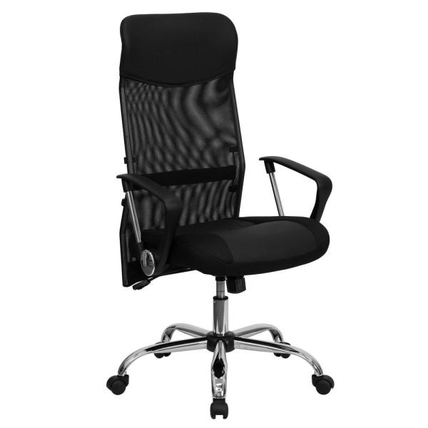 Flash Furniture Black Office/Desk Chair CGA-GO-0096-BL-HD