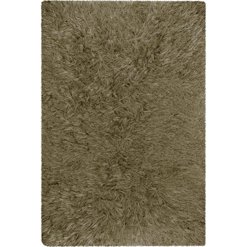 Chandra Celecot Olive 9 ft. x 13 ft. Indoor Area Rug