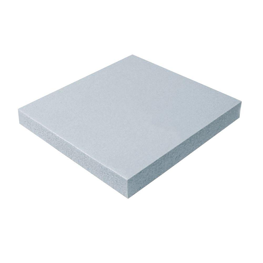 Cellofoam 3 4 in x ft x 4 ft r 3 polystyrene for Foam panel house
