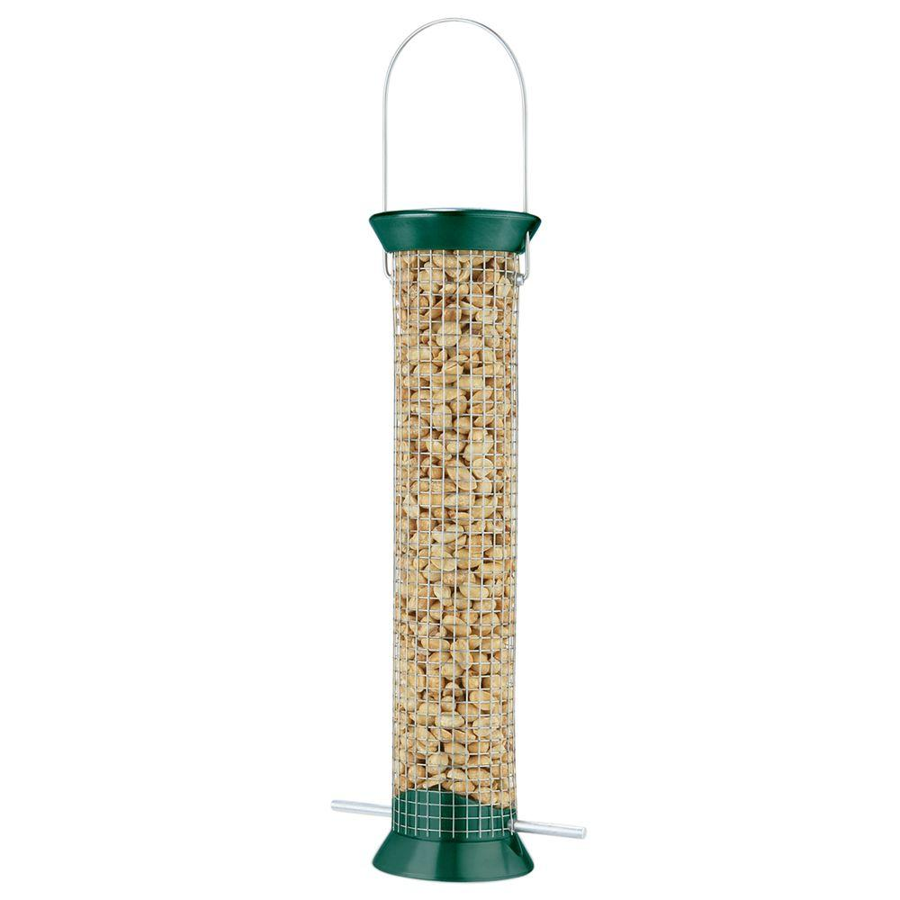 13 in. New Generation Metal Peanut Bird Feeder