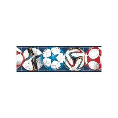 Growing Up Kids Go After Your Goal Removable Wallpaper Border