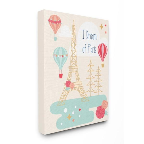 Stupell Industries 24 in. x 30 in. ''I Dream Of Paris''
