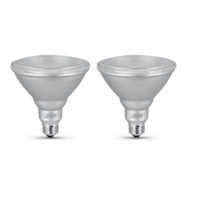 90-Watt Equivalent PAR38 Dimmable CEC LED Energy Star 90+ CRI Flood Light Bulb Daylight (2-Pack)
