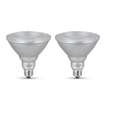 90-Watt Equivalent PAR38 Dimmable Security or Track Lighting ENERGY STAR 90+ CRI Flood LED Light Bulb, Daylight (2-Pack)
