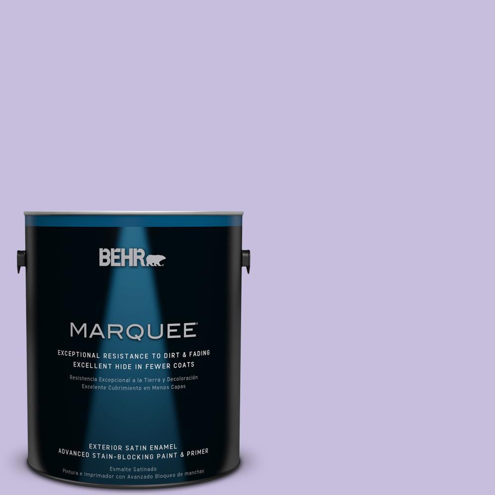 BEHR MARQUEE 1-gal. #640B-4 Innuendo Satin Enamel Exterior Paint