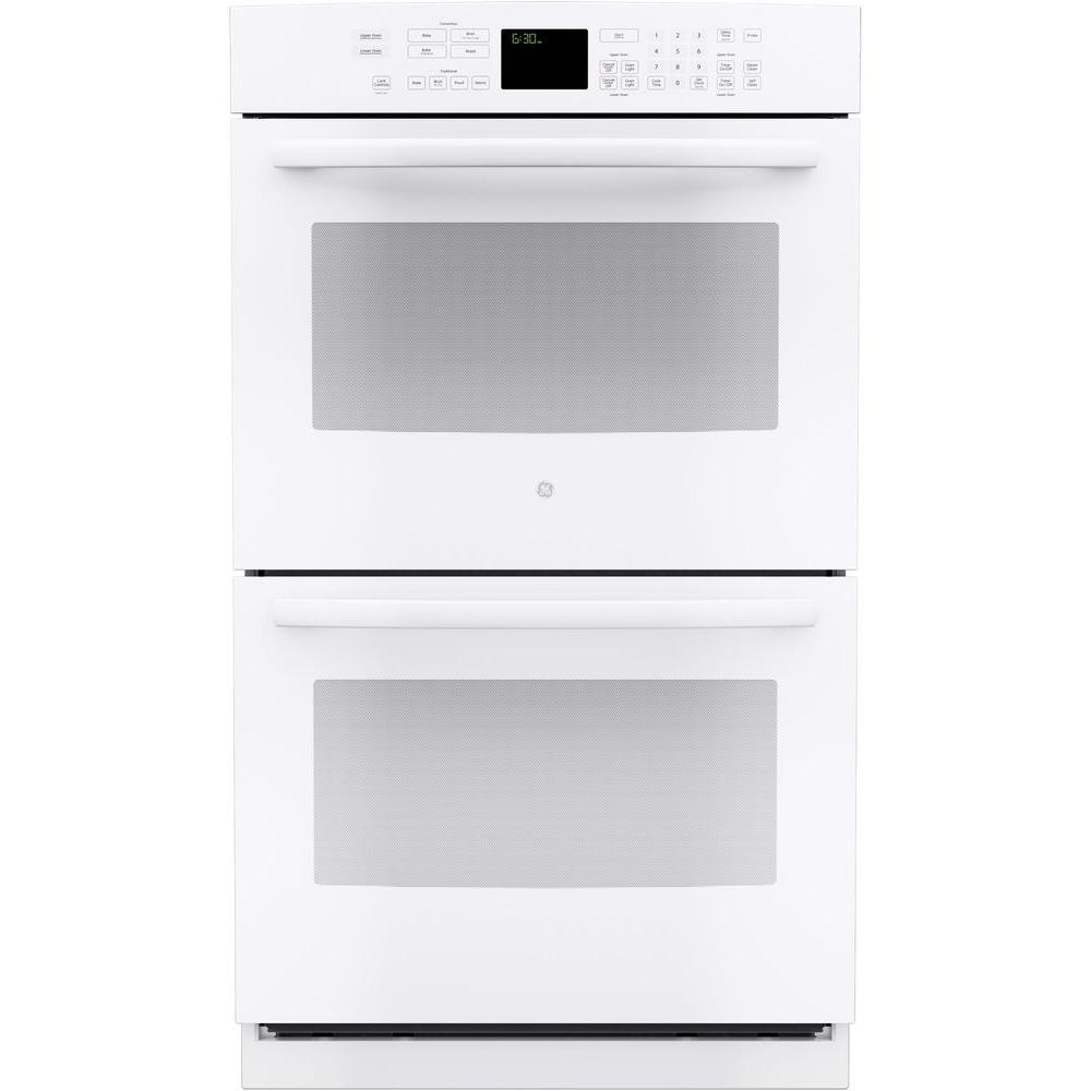 Profile 30 in. Double Electric Wall Oven Self-Cleaning with Convection in