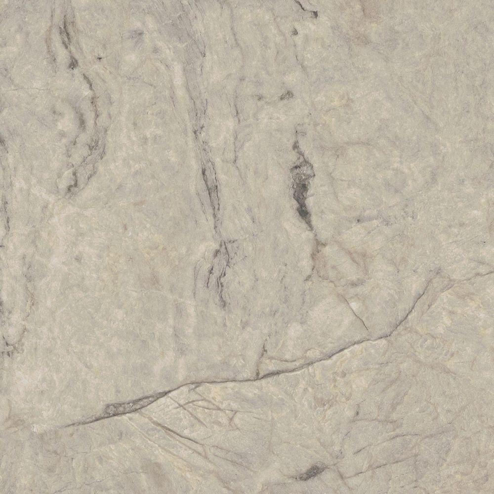 Formica 5 ft. x 12 ft. Laminate Sheet in Silver Quartzite...