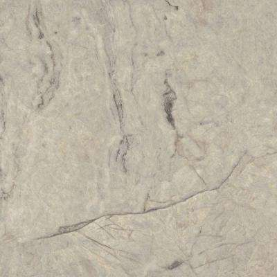 5 ft. x 12 ft. Laminate Sheet in Silver Quartzite with Matte