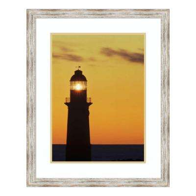 """""""Cape du Couedic lighthouse at sunset, Flinders Chase NP, Kangaroo Island, Australia"""" by Gerry Ellis Framed Wall Art"""