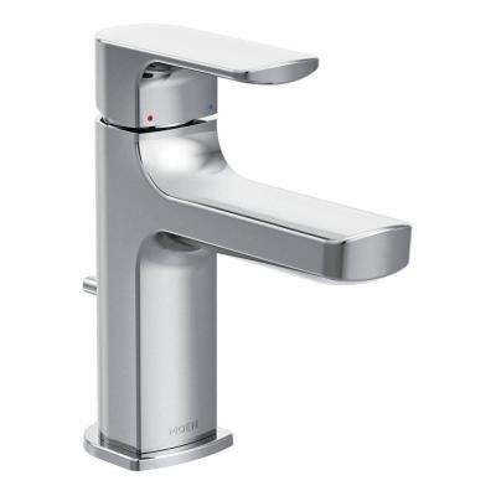 Rizon Single Hole 1-Handle Bathroom Faucet in Chrome