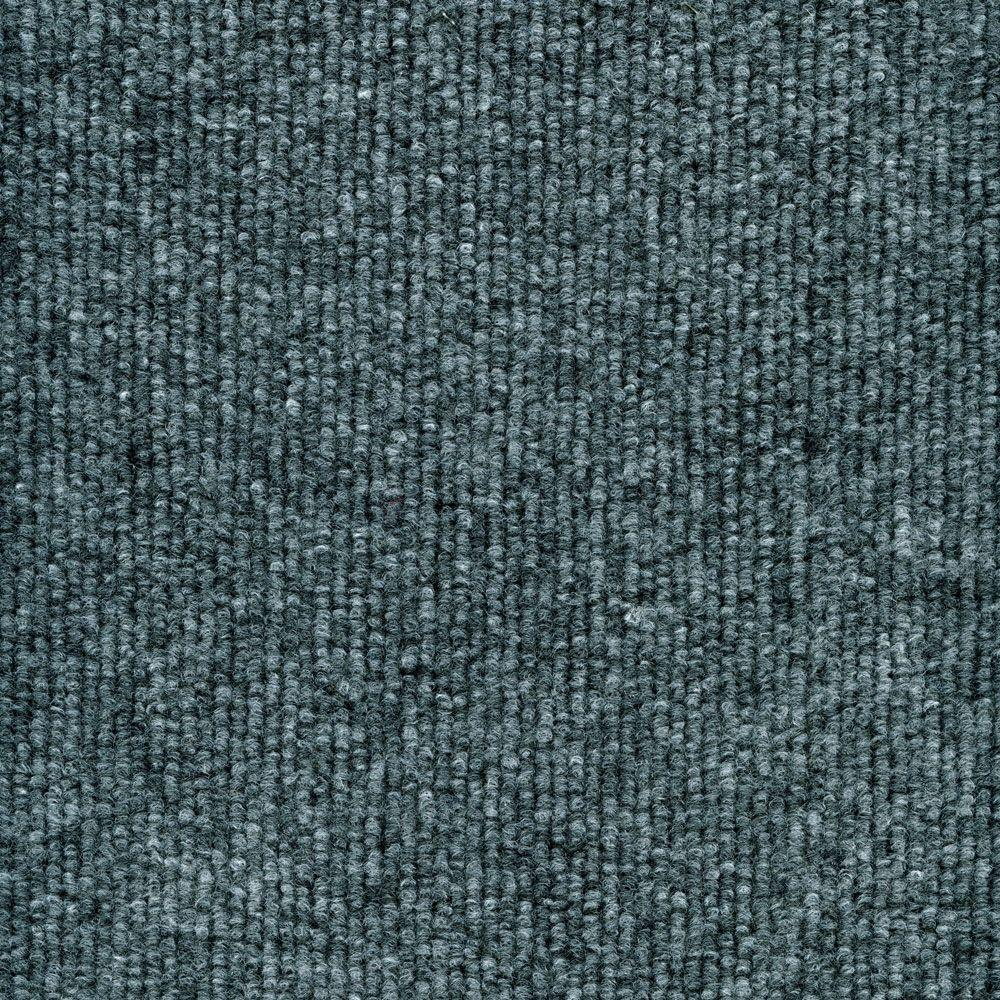 Incroyable TrafficMASTER Elevations   Color Ocean Blue Ribbed Texture Indoor/Outdoor  12 Ft. Carpet 7PD5N550144H   The Home Depot