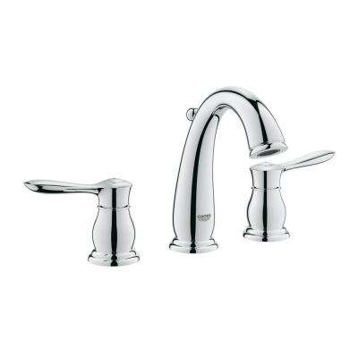 Parkfield 8 in. Widespread 2-Handle 1.2 GPM Bathroom Faucet in StarLight Chrome