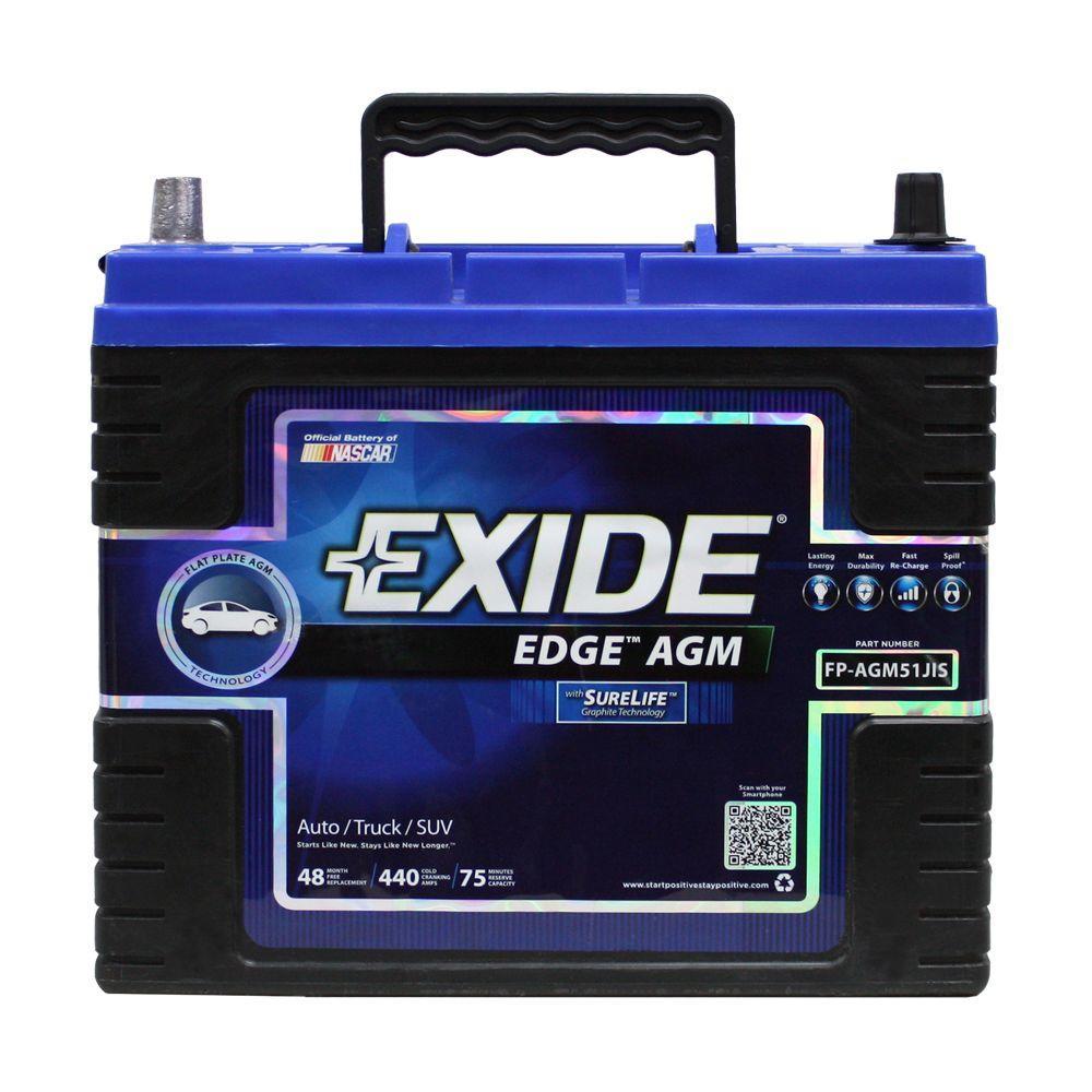 51JIS Auto AGM Battery